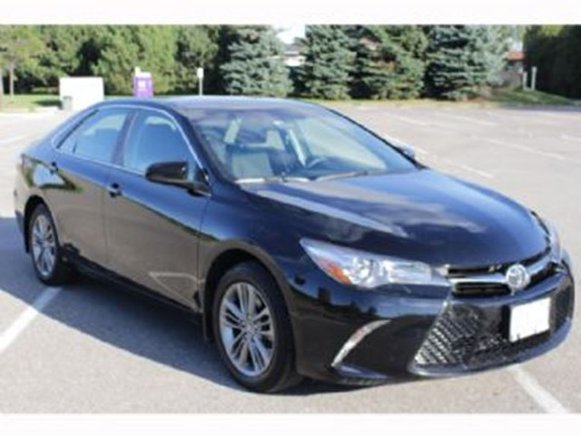 2016 TOYOTA CAMRY 4dr Sdn I4 Auto SE in Mississauga, Ontario
