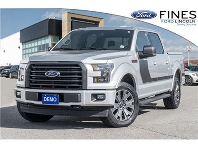 2017 FORD F-150 XLT - DEMO, FREE WINTER TIRES ON RIMS! in Bolton, Ontario