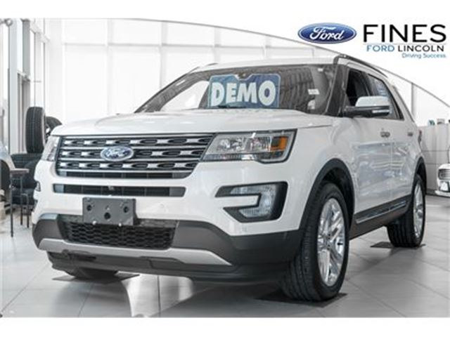 2017 FORD EXPLORER Limited - DEMO, FREE WINTER TIRES! in Bolton, Ontario