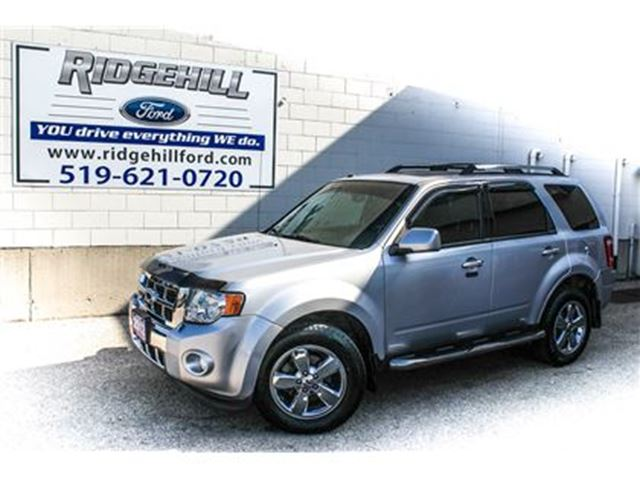 2012 FORD ESCAPE Limited  4X4  V6  LEATHER in Cambridge, Ontario