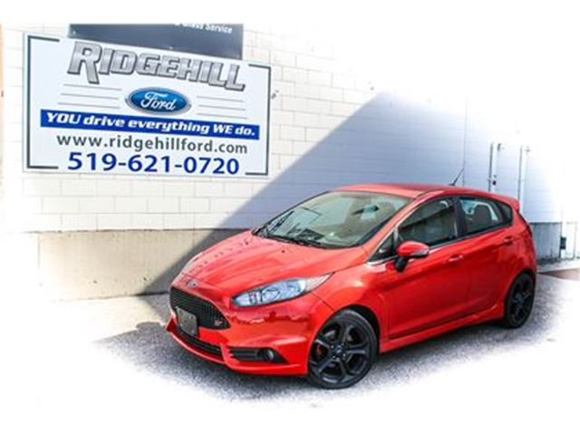 2016 FORD FIESTA ST  NAVIGATION  LEATHER  SYNC in Cambridge, Ontario