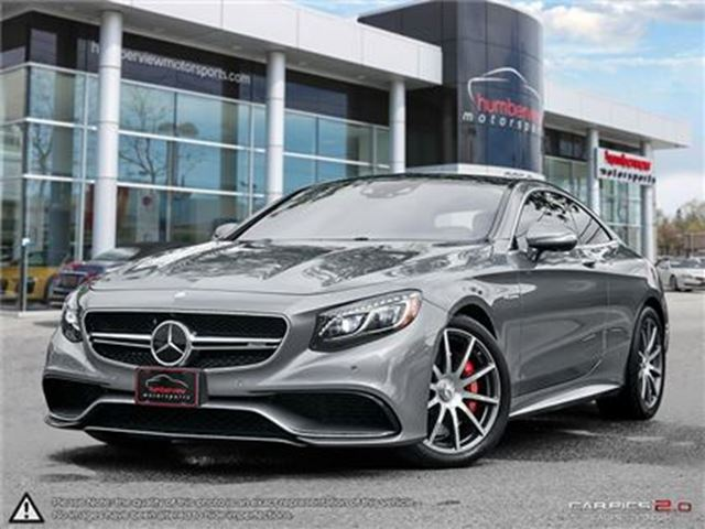 2015 MERCEDES-BENZ S-CLASS S63 AMG in Mississauga, Ontario