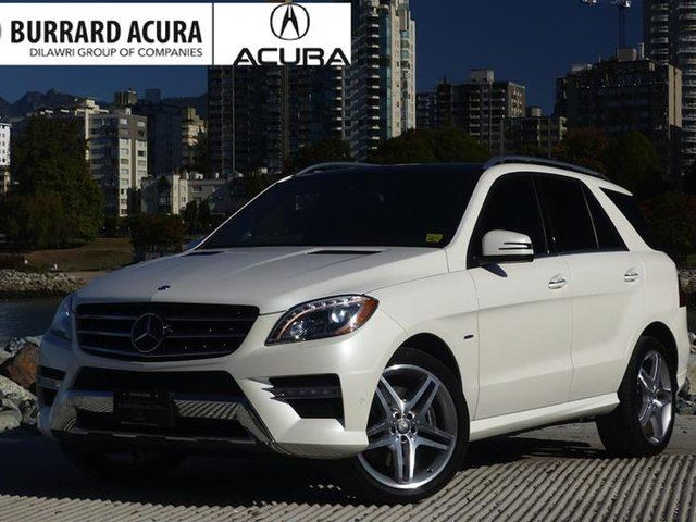 2012 MERCEDES-BENZ M-CLASS 4MATIC in Vancouver, British Columbia