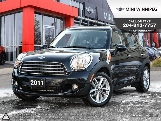 2011 MINI COOPER Countryman FWD 4dr Local One Owner, Clean Carproof in Winnipeg, Manitoba