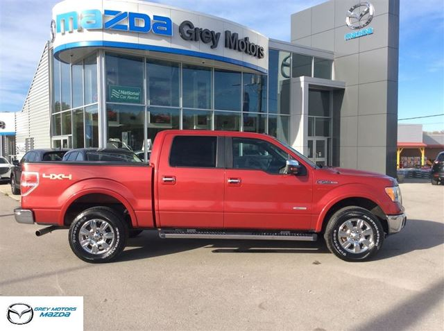 2011 Ford F-150 Lariat, Navigation, Heated Leather, p. Sunroof, in Owen Sound, Ontario
