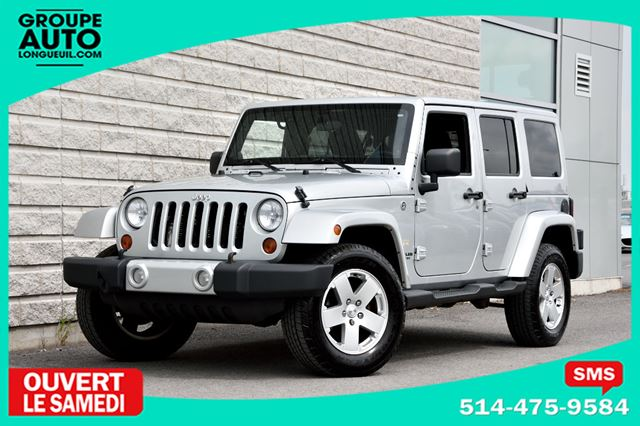 2012 JEEP WRANGLER *UNLIMITED*SAHARA*4PORTES*2TOITS* in Longueuil, Quebec