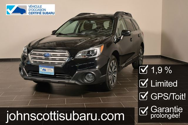 2015 SUBARU OUTBACK 3.6r LIMITED 1.9% in St Leonard, Quebec