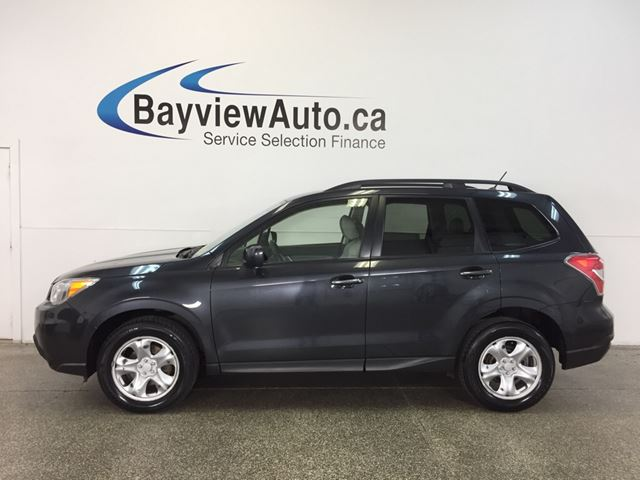 2014 SUBARU FORESTER - AWD|2.5L|ALLOYS|HTD SEATS|A/C|CRUISE! in Belleville, Ontario
