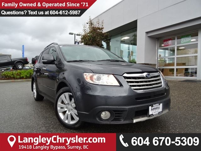 2008 SUBARU B9 TRIBECA Base 5-Passenger *DEALER INSPECTED*PROFESSIONALLY DETAILED* in Surrey, British Columbia