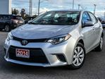 2014 Toyota Corolla   LE-BACK-UP CAM+HTD SEATS! in Cobourg, Ontario