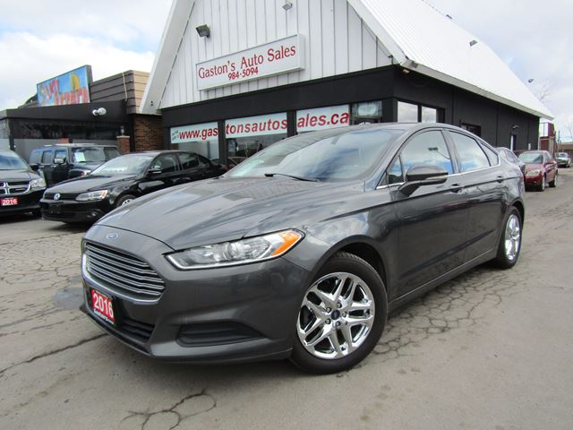 2016 Ford Fusion BACKUP CAM! FACTORY WARRANTY! in St Catharines, Ontario