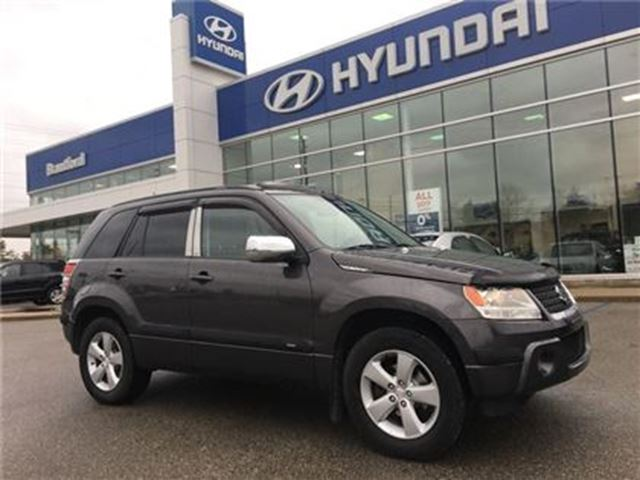 2010 SUZUKI GRAND VITARA Cloth   4-CYL   Sunroof   4WD in Brantford, Ontario