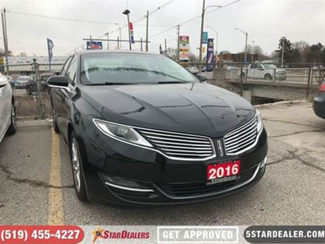 2016 LINCOLN MKZ LEATHER   CAM   HEATED SEATS in London, Ontario