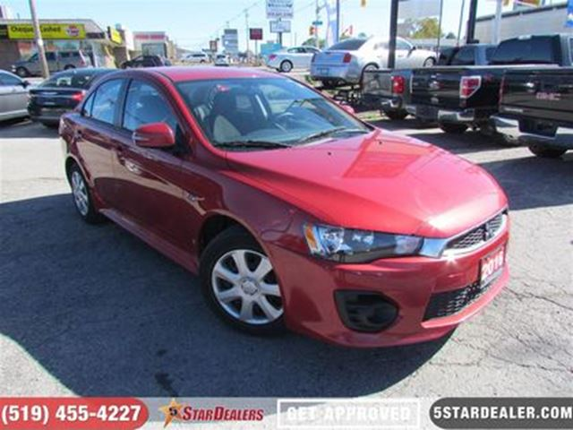 2016 MITSUBISHI LANCER ES   ONE Owner   AS GOOD AS NEW in London, Ontario