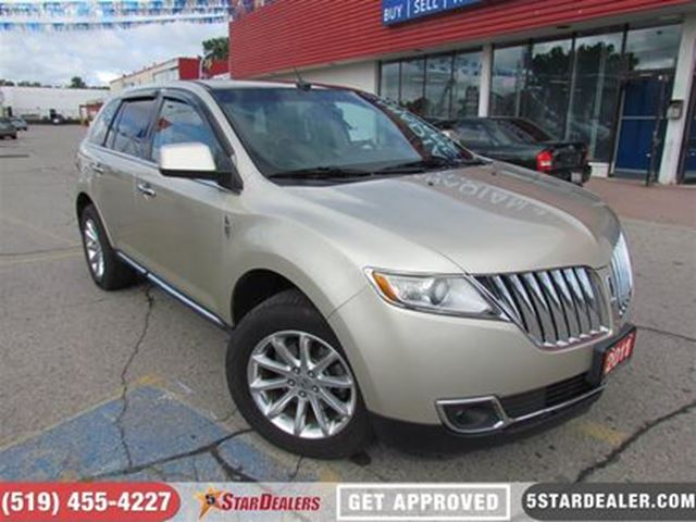2011 LINCOLN MKX AWD   NAV   LEATHER   PANO ROOF in London, Ontario