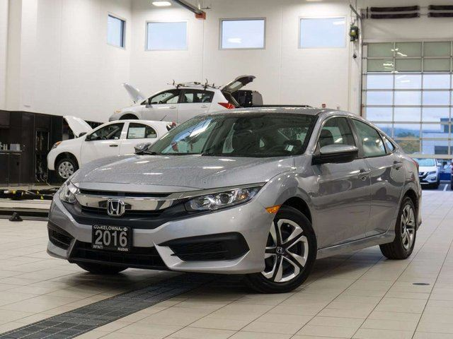 2016 HONDA CIVIC 2.0 LX CVT in Kelowna, British Columbia