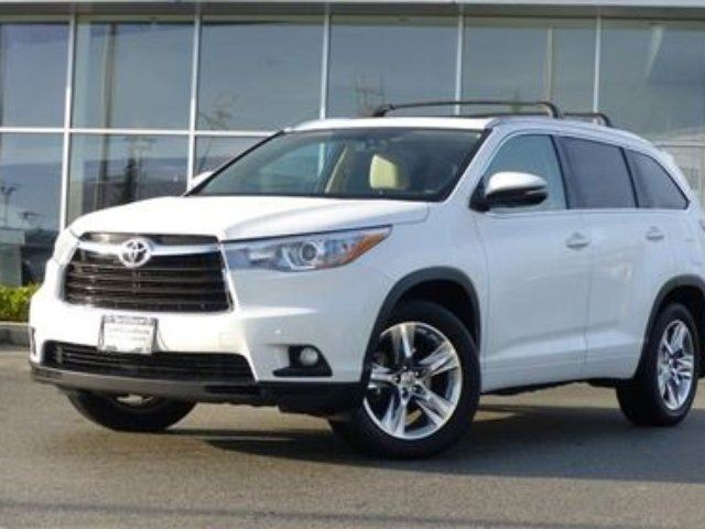2014 TOYOTA HIGHLANDER Limited CVT in North Vancouver, British Columbia