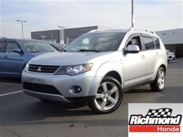 2008 MITSUBISHI OUTLANDER XLS! 6 Months Powertrain Warranty! in Richmond, British Columbia