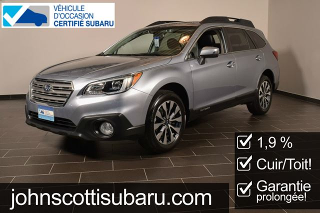 2015 Subaru Outback Limited Eyesight 1.9% in St Leonard, Quebec