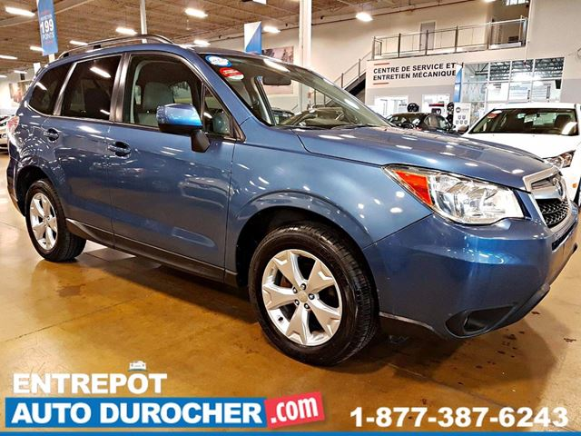 2015 SUBARU FORESTER Convenience - 4X4 - AUTOMATIQUE - AIR CLIMATISn++ in Laval, Quebec
