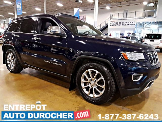2014 JEEP GRAND CHEROKEE LIMITED - 4X4 - AUTOMATIQUE - AIR CLIMATISn++ in Laval, Quebec