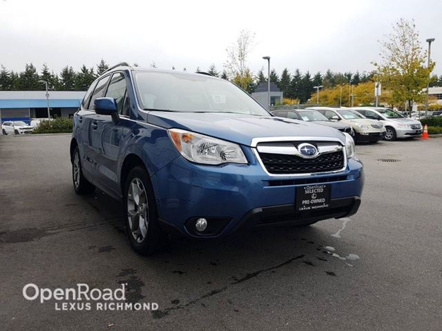 2015 SUBARU FORESTER Limited in Richmond, British Columbia
