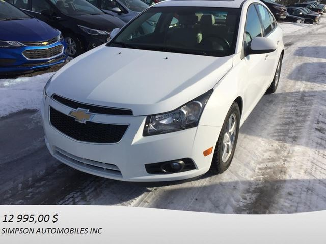 2014 CHEVROLET Cruze 2LT in Gaspe, Quebec