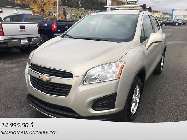 2014 Chevrolet Trax LT in Gaspe, Quebec