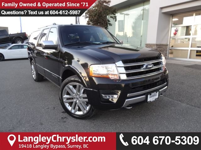 2015 FORD EXPEDITION Platinum *ACCIDENT FREE*ONE OWNER*LOCAL BC SUV* in Surrey, British Columbia