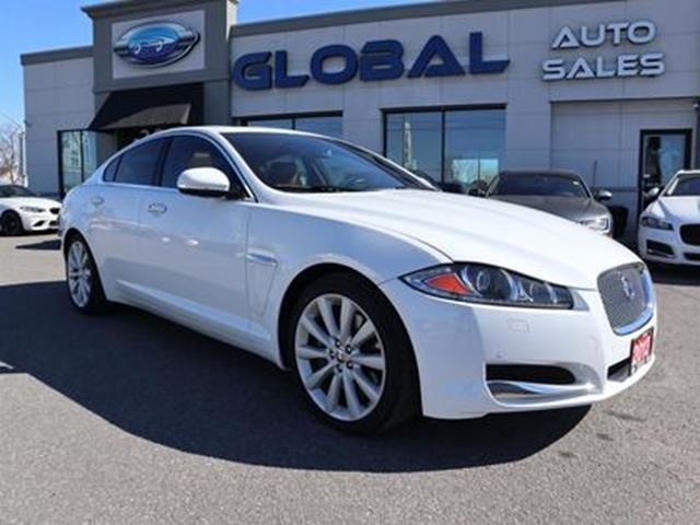 2013 JAGUAR XF 3.0L V6 SC AWD NAVIGATION LEATHER SUNROOF in Ottawa, Ontario