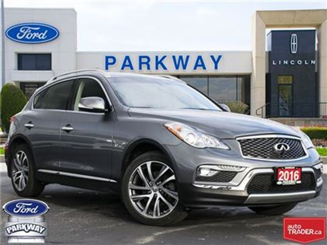 2016 INFINITI QX50 AWD  1-OWNER  ACCIDENT FREE  $258 BIWEEKLY $0 DOWN in Waterloo, Ontario