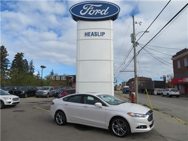 2016 Ford Fusion Titanium - One Owner/Loaded in Hagersville, Ontario