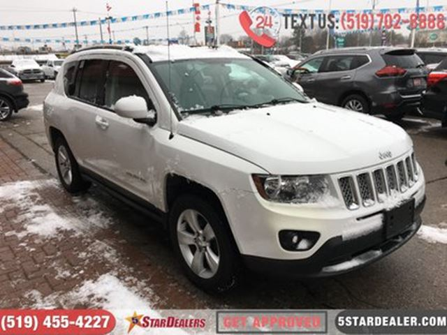 2014 JEEP COMPASS North   4X4   BLUETOOTH   ALLOYS in London, Ontario