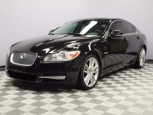 2011 JAGUAR XF Premium Luxury - Local 2nd Owner Trade In | No Accidents | Serviced at JLR Edmonton | Bluetooth | Rear Window Sunshade | Soft Grain Leather Dash/Console | Suede Headliner | Navigation | Heated Steering Wheel | Power Sunroof | Heated Windshield with R in Edmonton, Alberta