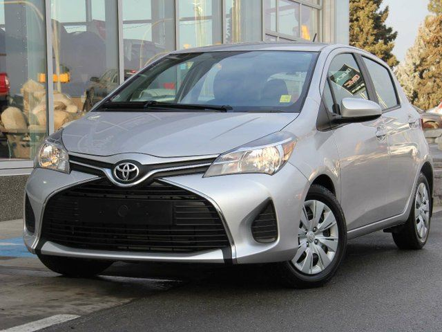 2016 TOYOTA YARIS LE 5dr Hatchback in Kamloops, British Columbia