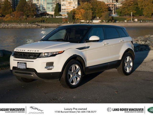 2015 LAND ROVER RANGE ROVER EVOQUE Pure Plus in Vancouver, British Columbia