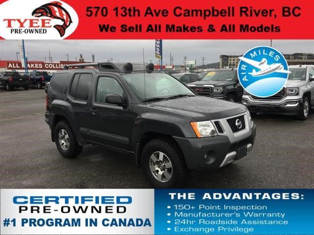 2013 Nissan Xterra PRO-4X in Campbell River, British Columbia