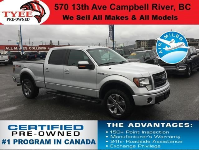 2014 FORD F-150 FX4 in Campbell River, British Columbia