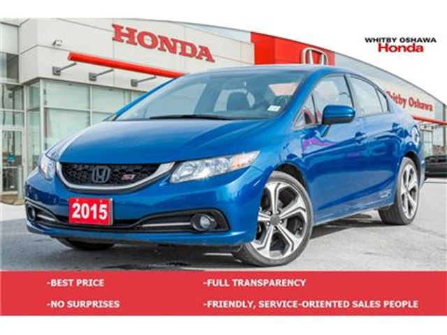 2015 HONDA Civic Si   Manual in Whitby, Ontario
