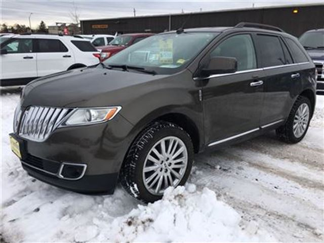 2011 LINCOLN MKX Automatic, Navigation, Back Up Camera, AWD in Burlington, Ontario