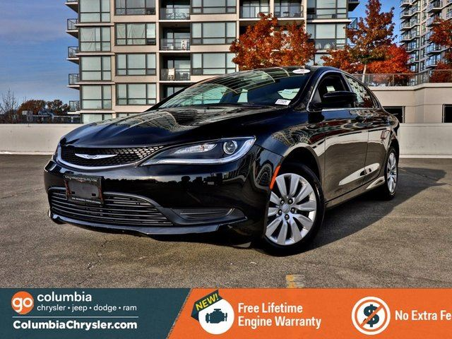 2016 CHRYSLER 200 LX in Richmond, British Columbia