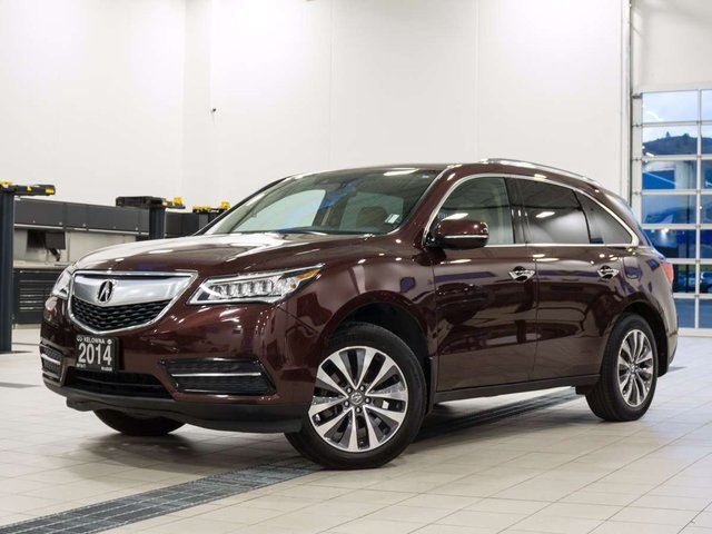 2014 ACURA MDX SH-AWD 6-Spd AT w/Tech Package in Kelowna, British Columbia