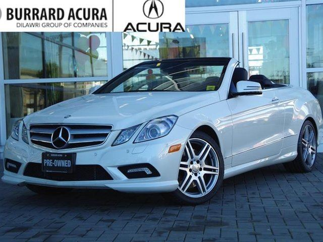 2011 MERCEDES-BENZ E-CLASS Cabriolet in Vancouver, British Columbia