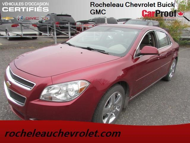 2010 Chevrolet Malibu LT Platinum Edition in Cowansville, Quebec