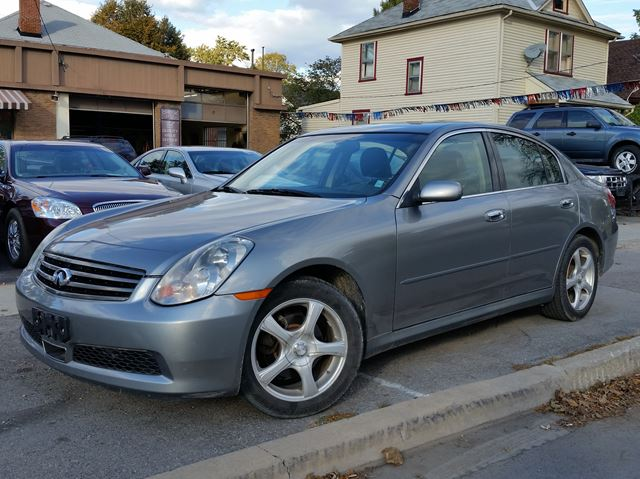 2005 INFINITI G35 x Luxury in St Catharines, Ontario