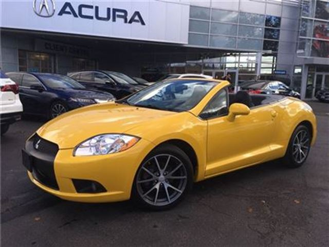 2011 MITSUBISHI ECLIPSE SPYDER GS   ONLY95000KMS   5SPEED   NOACCIDENTS in Burlington, Ontario