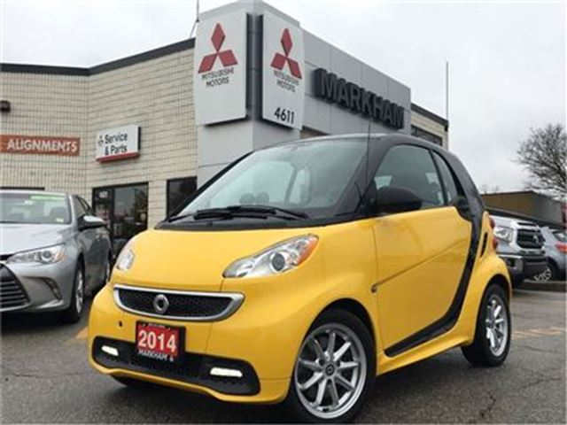 2014 SMART FORTWO ELECTRIC DRIVE Passion(FULL ELECTRIC, PREMIUM INTERIOR) in Markham, Ontario