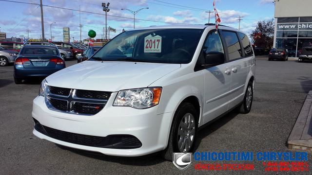2017 Dodge Grand Caravan CREW Stow'N Go in Chicoutimi, Quebec
