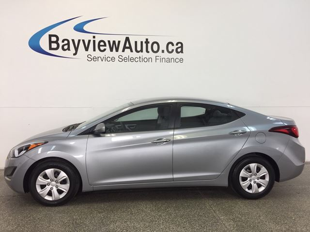 2016 HYUNDAI Elantra L- 6 SPD! 1.8L! A/C! PWR GROUP! HTD STEERING WHL! in Belleville, Ontario