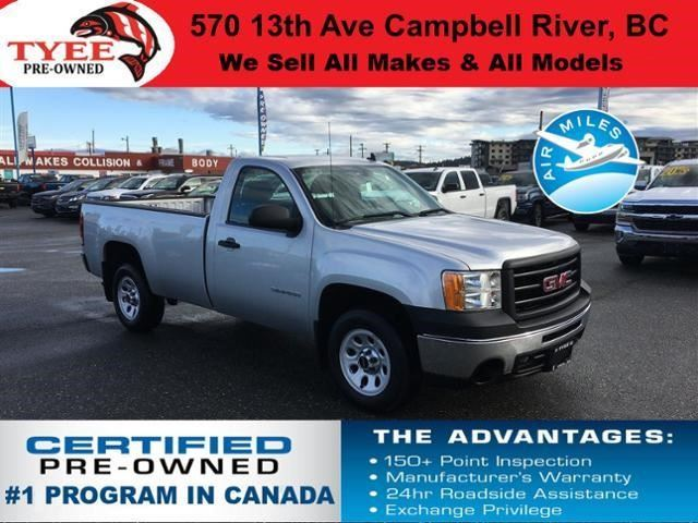 2012 GMC SIERRA 1500 WT in Campbell River, British Columbia
